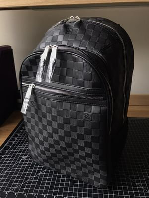 Louis Vuitton Authentic Black Leather Backpack for Sale in Troy, NY