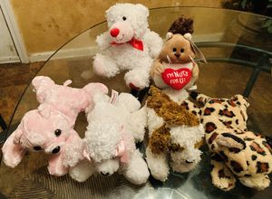 Precious Pets Adorable French Poodle & Friends Soft & Fluffy Stuffed Baby Animals Collection for Sale in Ellenwood, GA