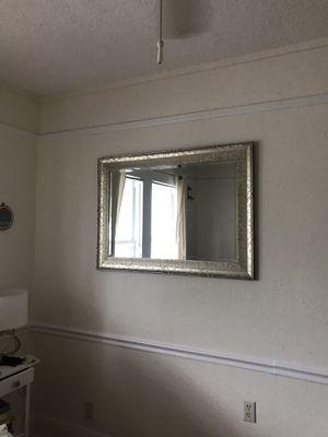 Silver Mirror for Sale in Tampa, FL