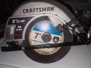 Craftsman Circular Saw for Sale in New York, NY