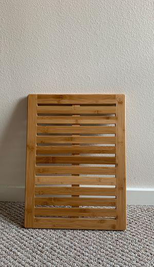 Bamboo bath mat for Sale in Seattle, WA