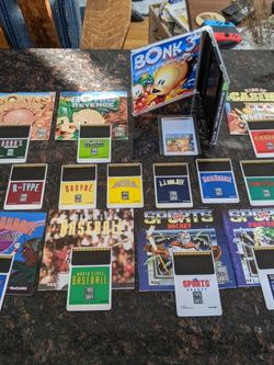 Turbografx 16 collection for sale/trade - Bonks 1 2 3, R Type, Ordyne, Double Dungeon, TV Sports, Keith Courage, Casino, JJ n Jeff, Moto Roader, Power for Sale in Arlington,  VA
