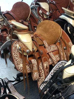 Mexican Horse Saddles 🐎 Silla De Montar Charro for Sale in Carson, CA