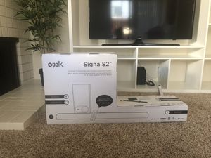 Polk Audio Signa S2 Ultra-Slim TV Sound Bar with Wireless Subwoofer | Works with 4K & HD TVs | Bluetooth Enabled - Black for Sale in Pleasant Hill, CA