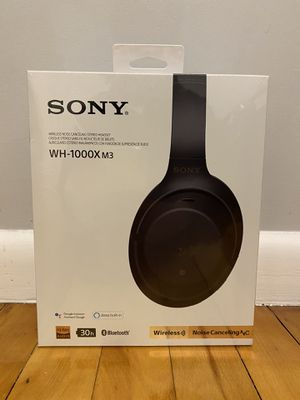 Sony Wireless Headphone WH-1000X/m3 for Sale in Oxford, MA