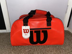 Wilson Premium Waterproof Infrared Duffle Bag for Sale in Houston, TX