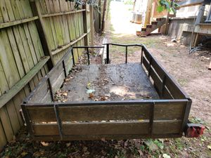 Open trailer. 4 by 6. With Ford chassis for Sale in Marietta, GA