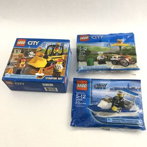 LEGO City Bundle Of Three Building Toys for Sale in Centreville, VA