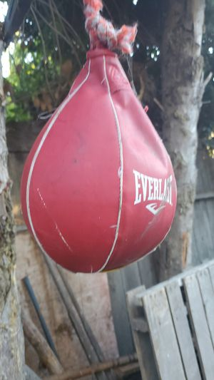 Speed bag for Sale in West Menlo Park, CA