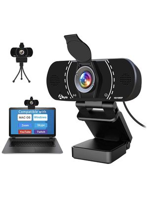 HD Pro Webcam 1080P with Microphone, Laptop Desktop PC Web Computer Camera for MAC Video Calling Recording Video Conference, 110 Degree Wide Angle,US for Sale in Brooklyn, NY