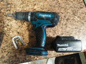 Makita cordless drill. No drill bits, no charger. for Sale in TN OF TONA, NY