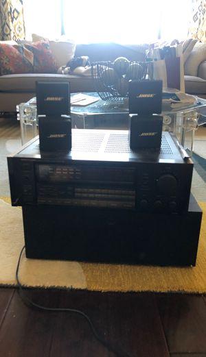 Bose speakers, Onkyo integra amplifier for Sale in Loma Linda, CA