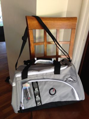 New Gray sport or travel carrying duffle bag waterproof material for Sale in Los Altos, CA