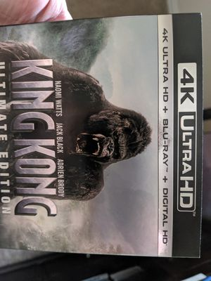 King Kong 4k digital code only!! NO physical copy. for Sale in San Antonio, TX