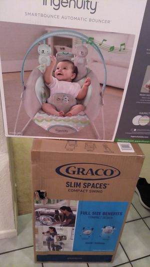 Ingenuity and Graco baby swing for Sale in Victorville, CA