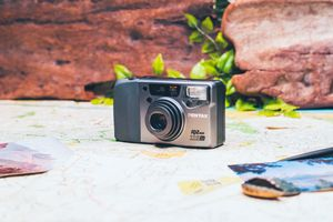 Pentax IQZoom 115m point and shoot film camera for Sale in Brentwood, CA
