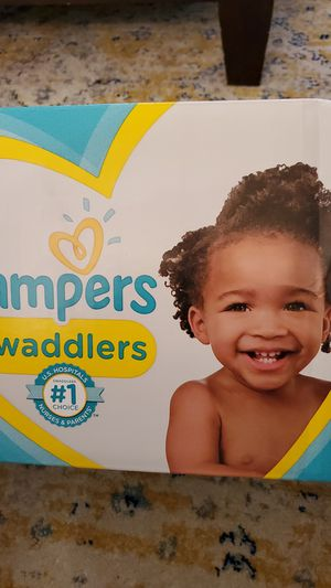 Pampers swaddlers, size 6, 54 diapers for Sale in Fort Lauderdale, FL
