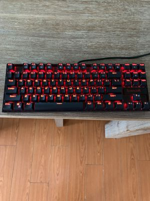 Red dragon 70% cherry mx blue mechanical rgb keyboard READ DESCRIPTION for Sale in Los Angeles, CA