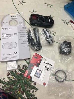 Ricoh waterproof camera for Sale in Smithfield, NC