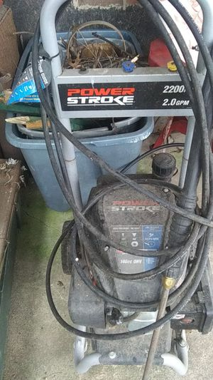 Power stroke pressure washer for Sale in Culloden, WV