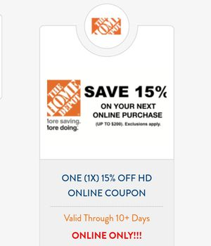 15% HD coupon for Sale in Cleveland, OH