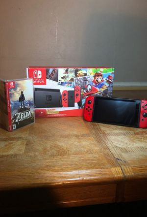 Super Mario Odyssey Switch and BOTW for Sale in Duncanville, TX