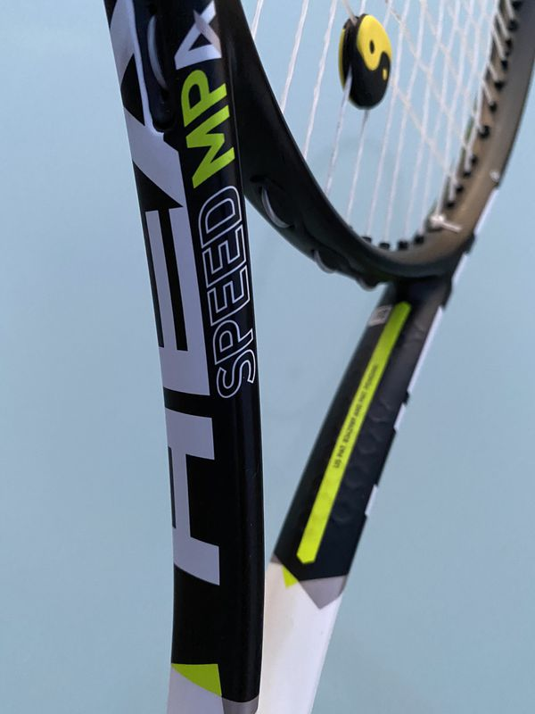 HEAD Graphene XT Speed MPA Tennis Racquet 4 1/2 Grip NOVAK DJOKOVIC RACKET USED