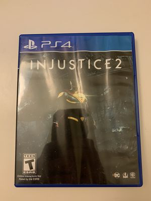 Injustice 2 PS4 for Sale in Mountain View, CA