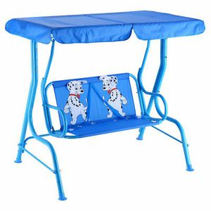 2-Person Patio Swing Porch Bench Canopy For Kids for Sale in Henderson, NV
