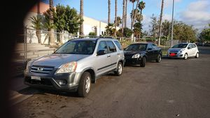 Selling a CRV 2005, KIA Optima 2006 &. Chevy spark 2013 for Sale in San Diego, CA