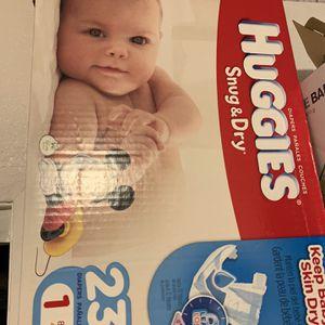Huggies Snug & Dry 232 Pcs. for Sale in Los Angeles, CA