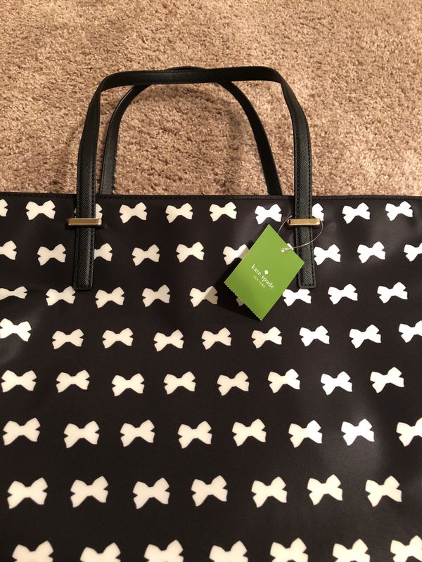 Brand New Kate Spade Wilson Road Bow Tote