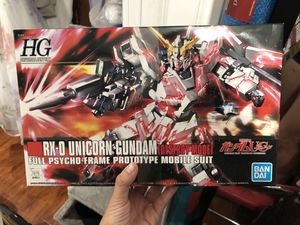 RX-0 Unicorn Gundam (Destroy Mode) for Sale in Los Angeles, CA