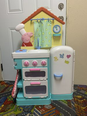 Peppa pig kitchen toy and accessories for Sale in Tampa, FL