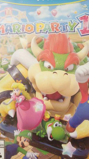 $25 Mario Party 10 WiiU for Sale in San Diego, CA