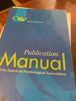 APA book for Sale in Yuma, AZ