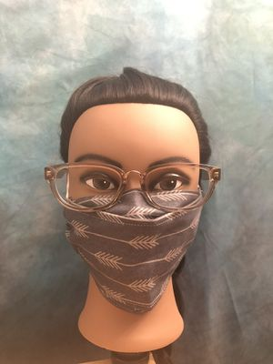 3D Fog-free mask (Grey with arrows) for Sale in Wake Forest, NC