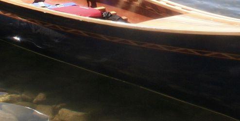 Custom 17 Foot Wood Canoe for Sale in Leavenworth,  WA