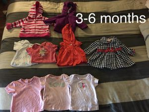 Baby Girl Clothes Lot 3-6 to 12m for Sale in Portland, OR