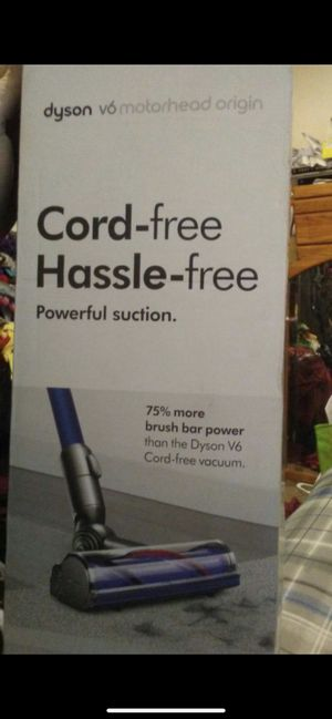 Dyson v6 motor head cordfree vacuum for Sale in Tempe, AZ