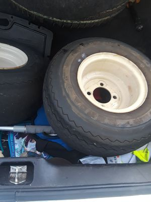 1 Tractor & lawn mower tire & wheel 10 Ply for Sale in Hollywood, FL