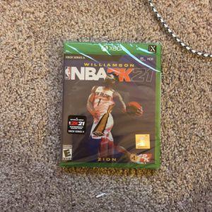 NBA 2k21 Xbox Series X for Sale in Grand Prairie, TX