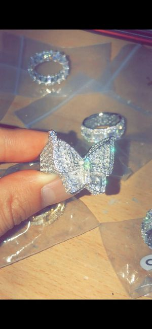 Brand new .925 size 6-9 butterfly ring for Sale in Lawndale, CA