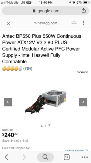 Gaming Computer Power Supply for Sale in Vienna, VA