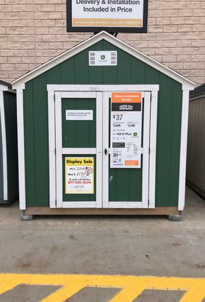 Sheds USA 8x12 Value Plus Shed Display now on sale at Home Depot in Hempstead NY 11549 for Sale in Hempstead, NY