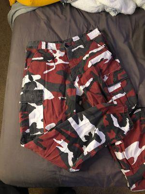 Camo Cargo pants utility for Sale in Black Diamond, WA