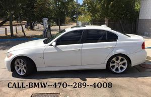2006 BMW 330I Automatic, white, clean, no accidents sunroof leather Bose for Sale in Atlanta, GA