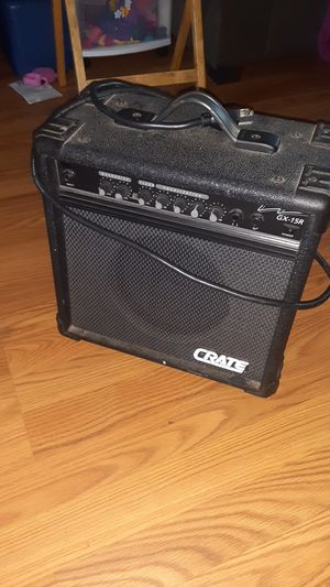 Crate GX-15R combo guitar amp for Sale in San Jose, CA