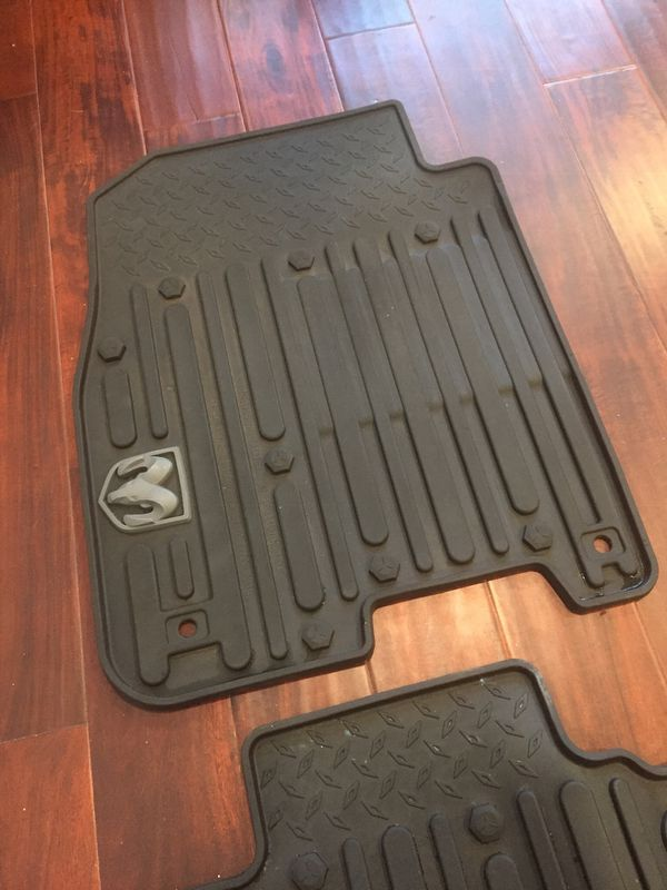 Get these BEFORE THE SNOW ARRIVES - Ram 1500 Crew Cab All Weather Matts