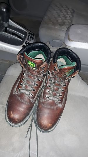 Steel toe John Deere work boots for Sale in Affton, MO